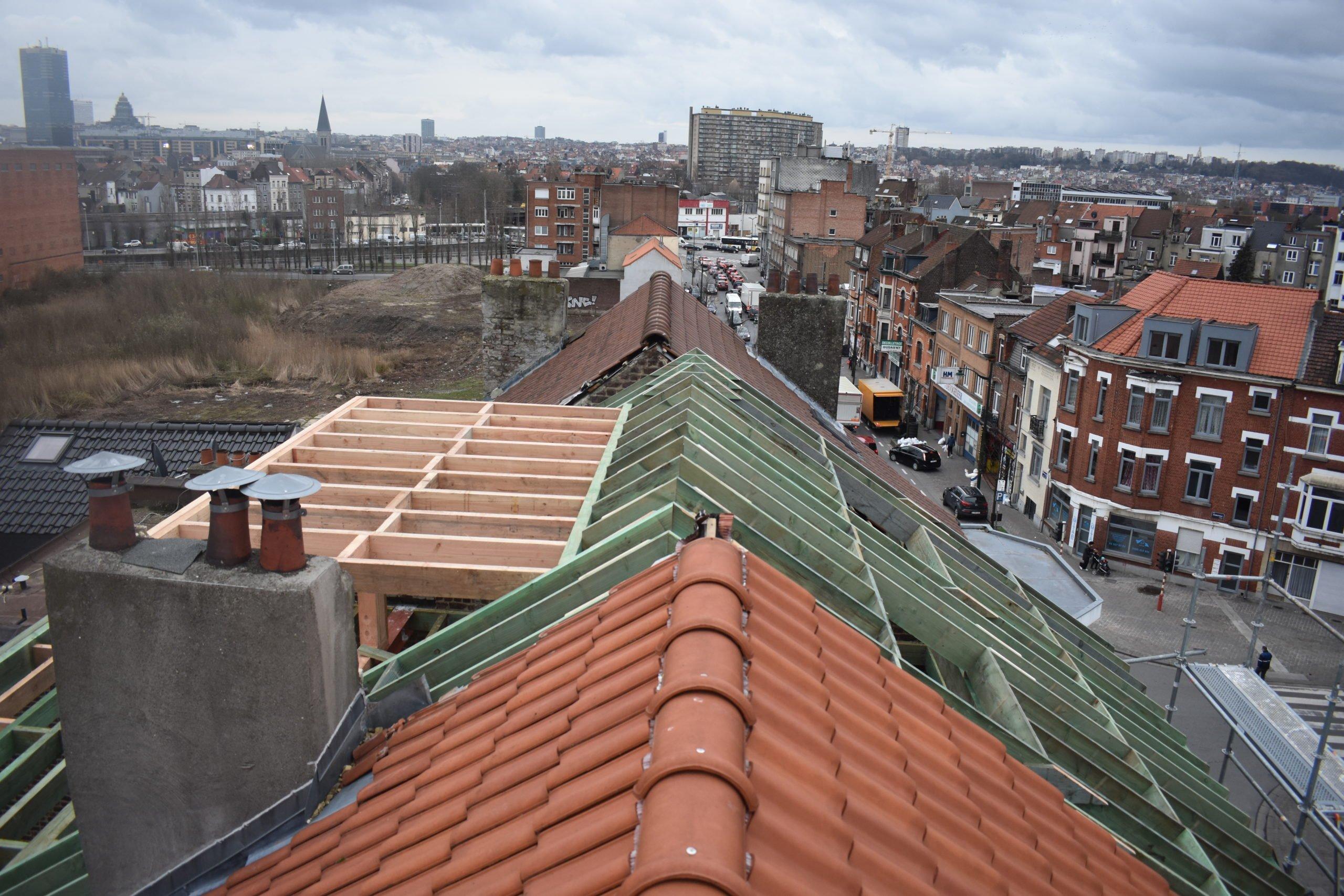 Nieuw dak laten plaatsen Brussel